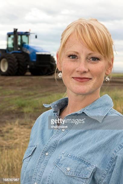 Weibliche Farmer