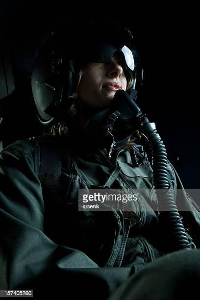 female fighter pilot - air force stock pictures, royalty-free photos & images