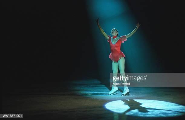 female figure skater - figure skating ストックフォトと画像