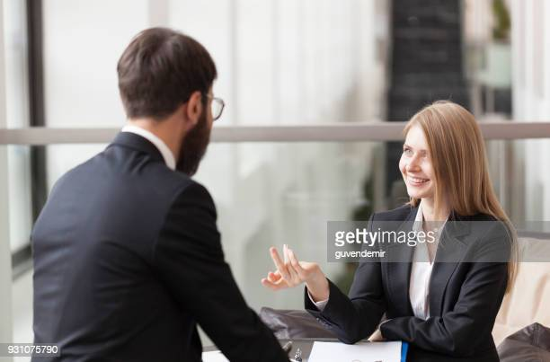 Female Financial advisor