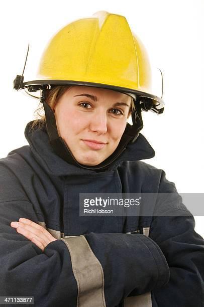 Femme pompier