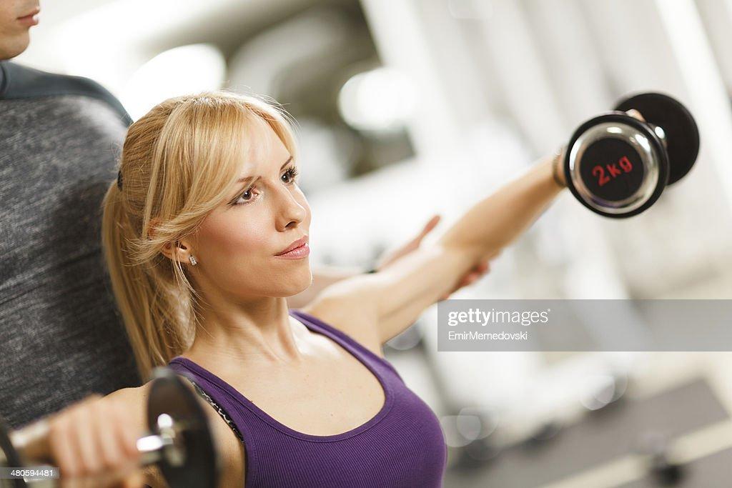 Female Fitness . : Stock Photo