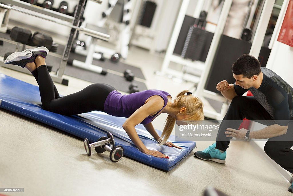 Female Fitness . : Stock Photo