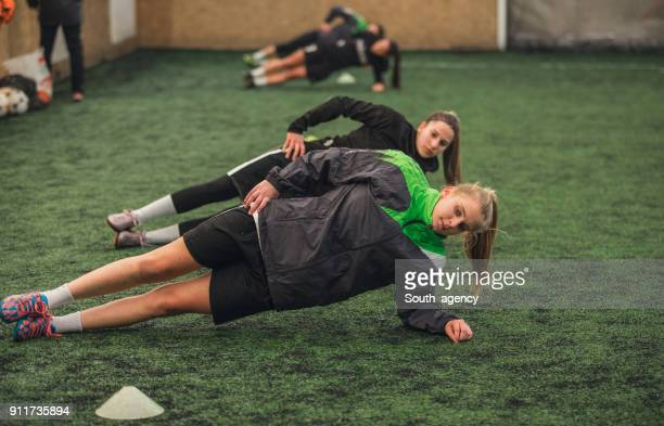 female football match - football training stock pictures, royalty-free photos & images