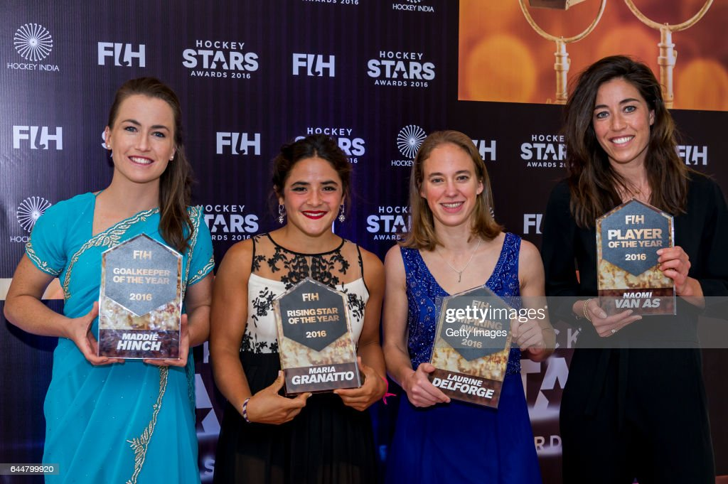 Female Goal Keeper of the Year Maddie Hinch of England and Great Britain FIH Female Rising Star of the Year Maria Granatto of Argentina FIH Female...
