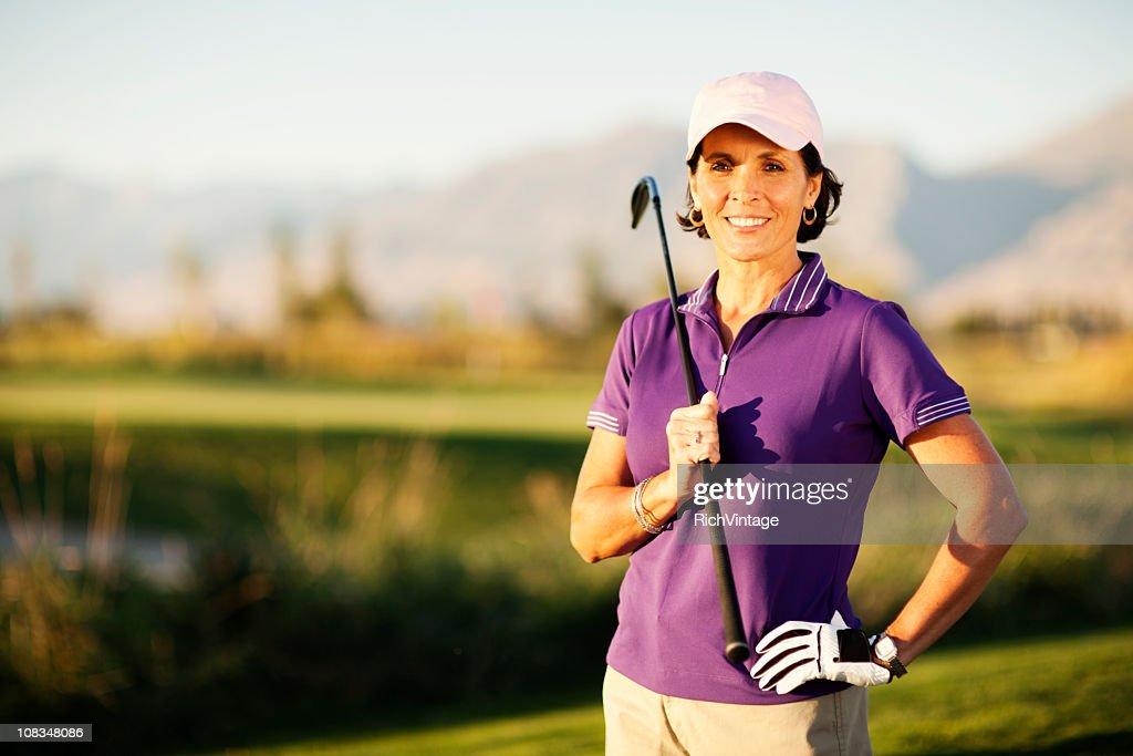 Female Golfer : Stock Photo