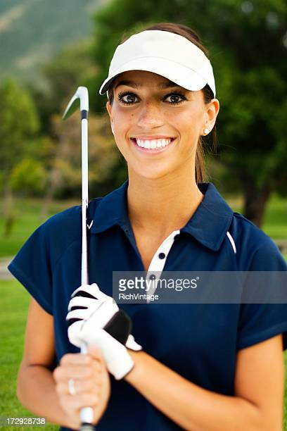 Female Golfer Portrait