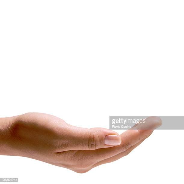 Female hand handling