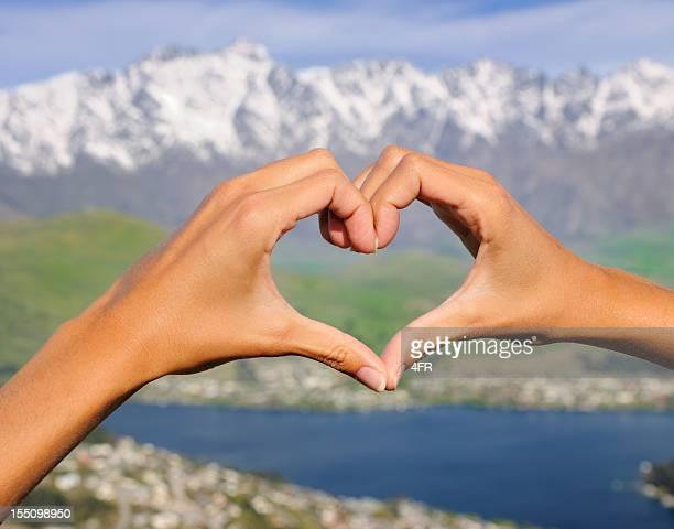 Female Hands Heart (XXXL)