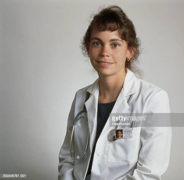 female health care provider, portrait - headhunters stock pictures, royalty-free photos & images