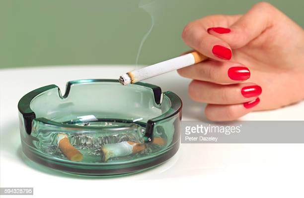 Female heavy smoker