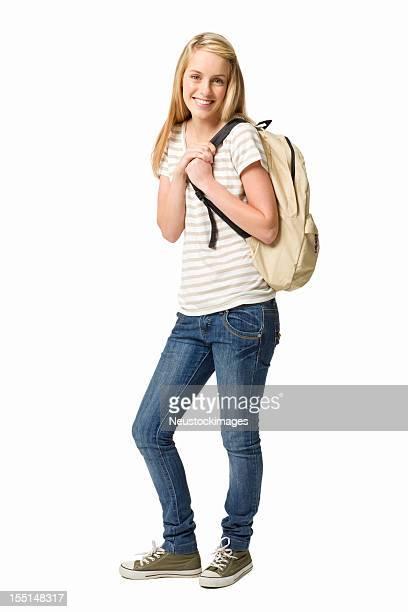 Femme Élève du secondaire