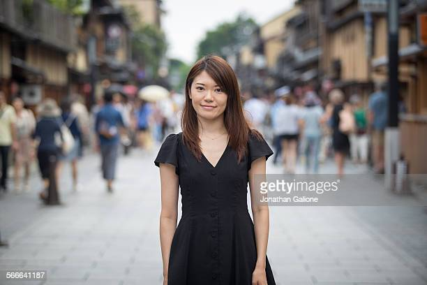 Female in Kyoto street