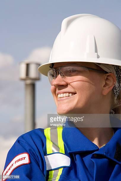 Weibliche Industrie Arbeiter