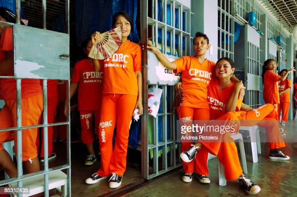 Female inmates at CPDRC Prison. The Inmates Dance Training & Show is a rehabilitation program at the prison that has attracted a lot of attention in...