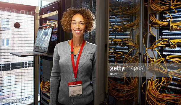 female IT engineer