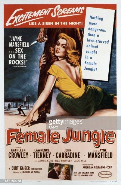 Female Jungle poster Kathleen Crowley 1955