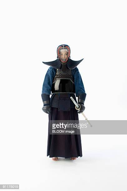 Female kendo player