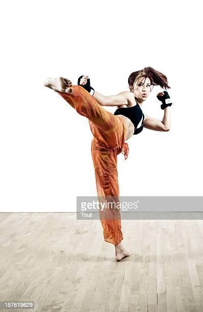 Femme Kick boxing