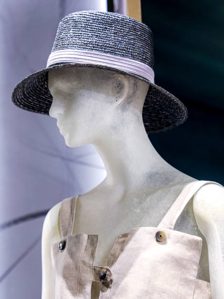 Female like mannequin side view