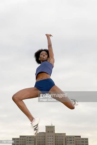Female long jumper