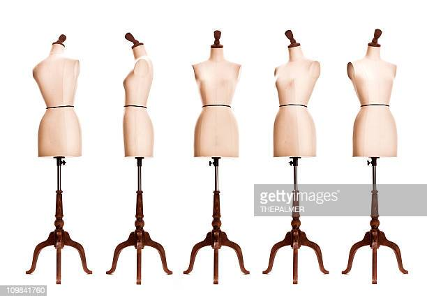 female mannequin torso - torso stock pictures, royalty-free photos & images