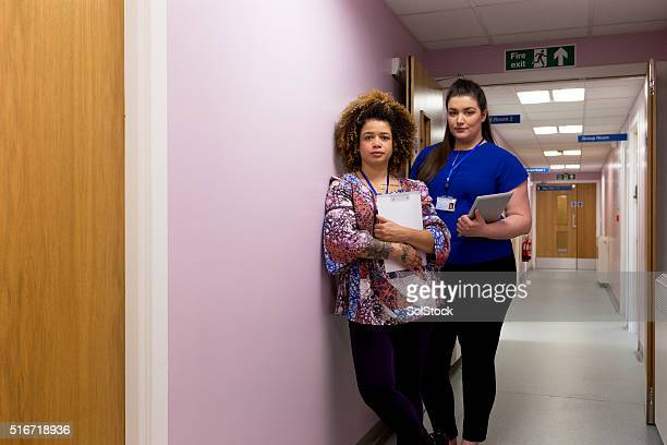 Weibliche medizinische Team