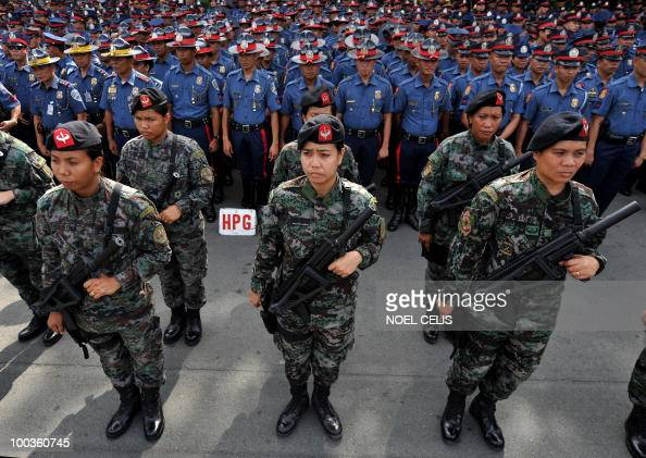 Female members of the Philippine Nationa Pictures | Getty ...