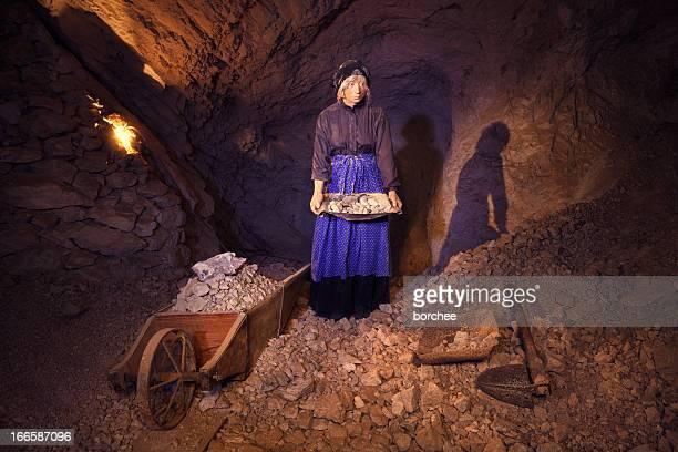 Female Mine Worker