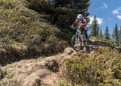 http://www.istockphoto.com/photo/female-mountainbiker-on-bumpy-single-trail-in-the-carinthian-mountains-austria-gm840219630-136904791