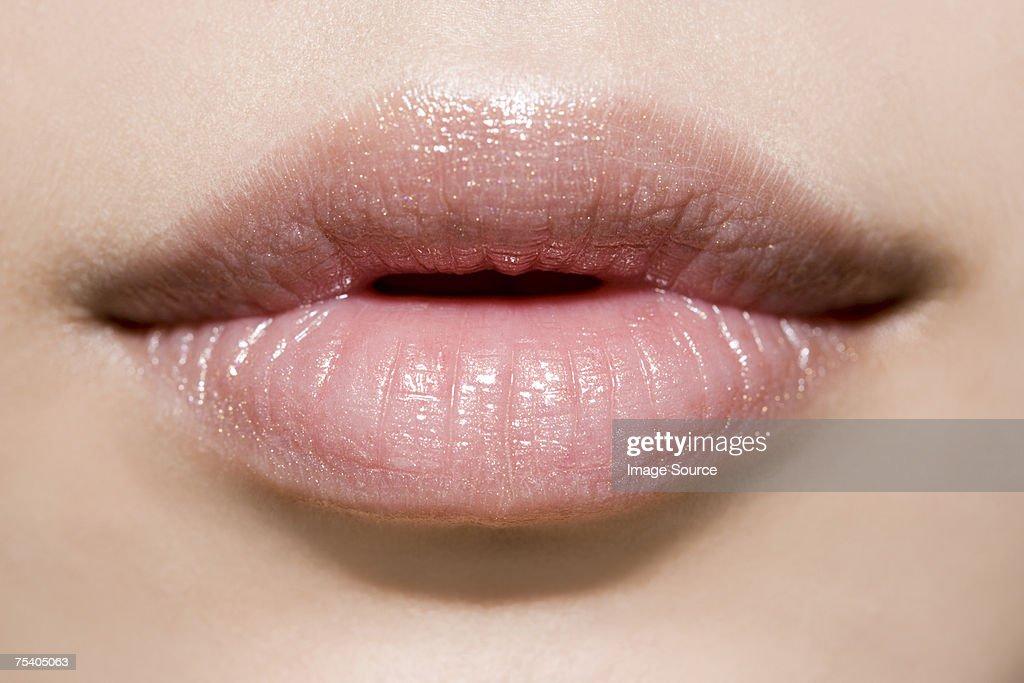 Female mouth : Stock Photo