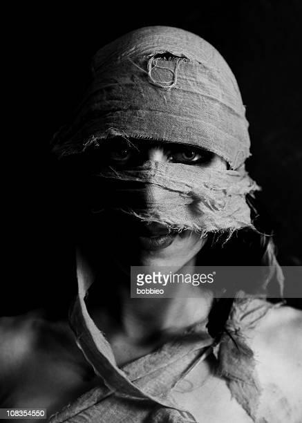 Weibliche Mumie Gesicht