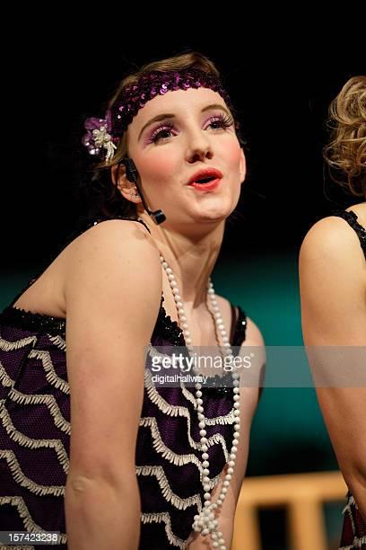 Weibliche Musical Performer