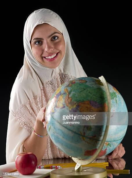 Female muslim student