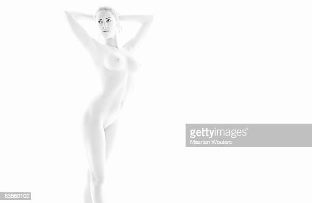 female nude fitness body - digital desire fotos stock-fotos und bilder