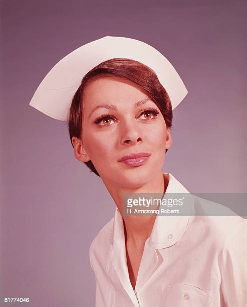 Female nurse, portrait. (Photo by H. Armstrong Roberts/Retrofile/Getty Images)