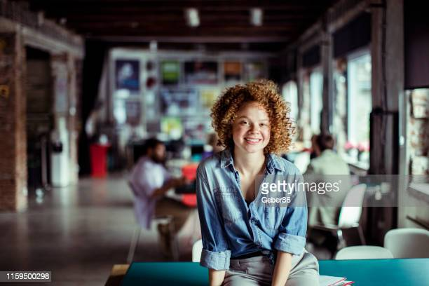 female office worker - graphic designer stock pictures, royalty-free photos & images