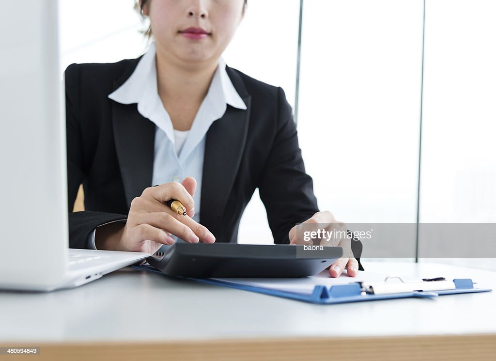 Female office worker : Stock Photo