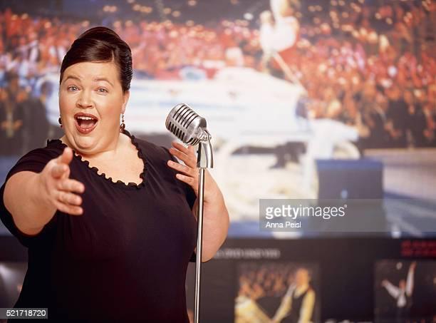 Female opera singer