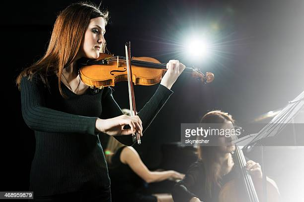 Female orchestra.