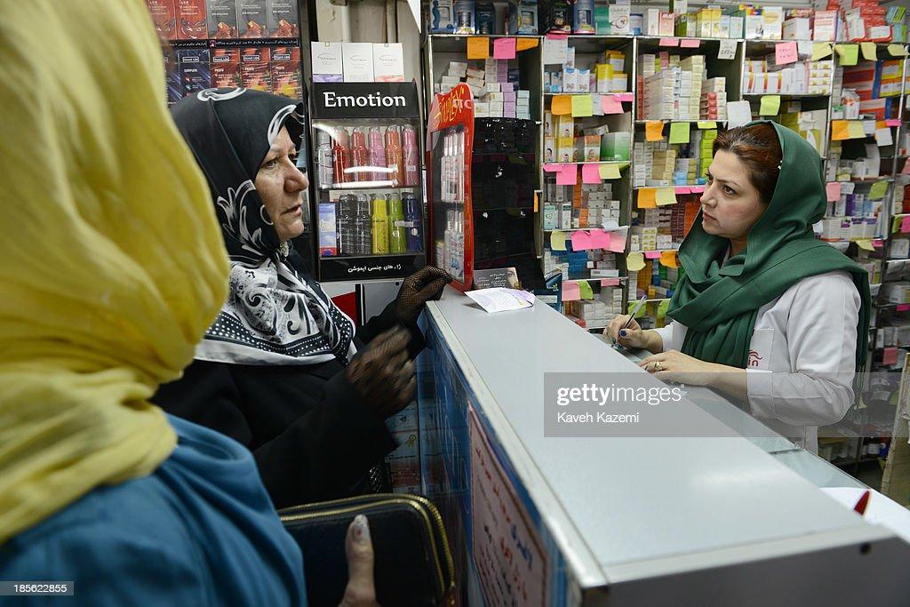 A Pharmacy In Tehran : Nachrichtenfoto