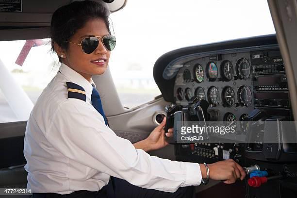 Weibliche Pilot