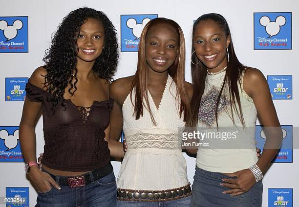 LONDON UK female pop group Misteeq at the Launch of Disney Channel Kids Awards Pacha London