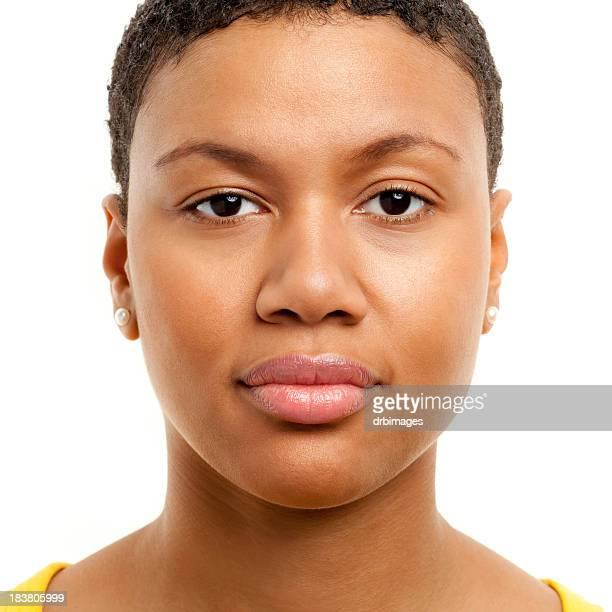 Weibliche Porträt