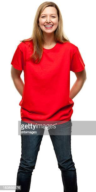 female portrait - all shirts stock pictures, royalty-free photos & images