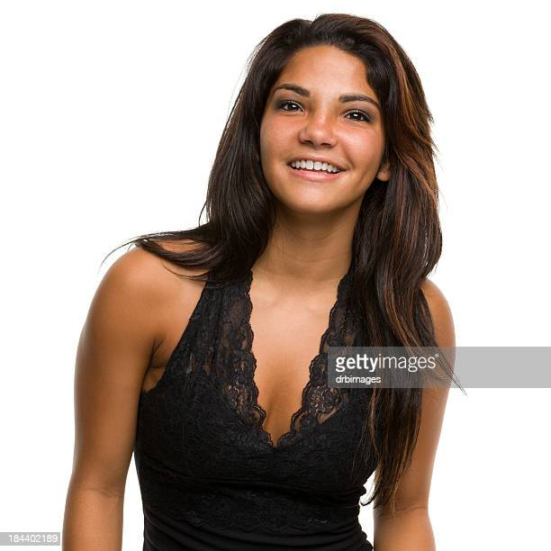 female portrait - halter neck stock pictures, royalty-free photos & images
