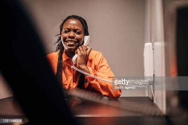 female prisoner in visiting room - confession law stock pictures, royalty-free photos & images