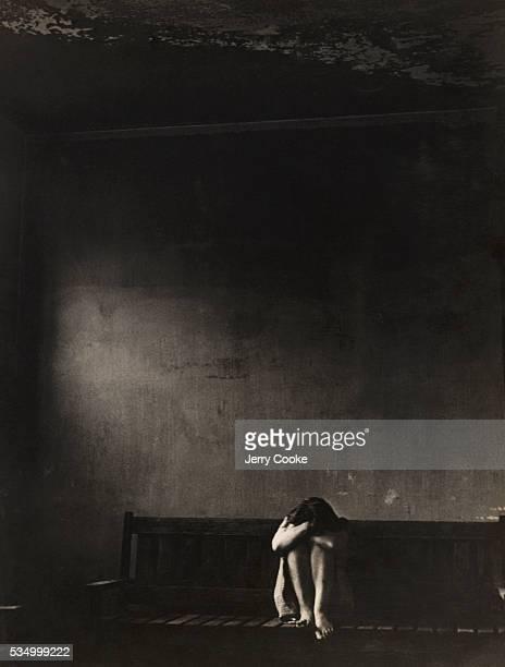 Female Psychiatric Patient in Asylum