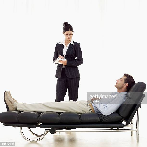 psychiatrist u0026 39 s couch stock photos and pictures