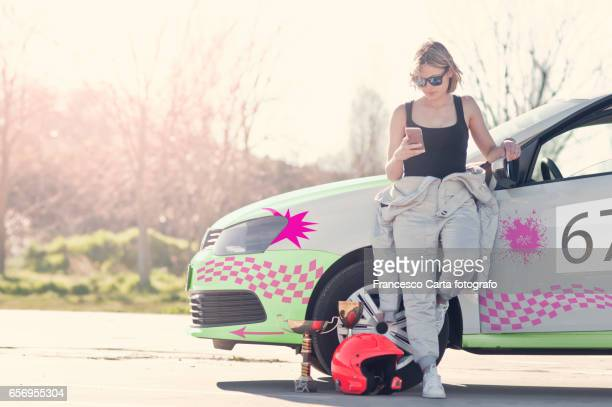 female race driver - will power race car driver stock pictures, royalty-free photos & images